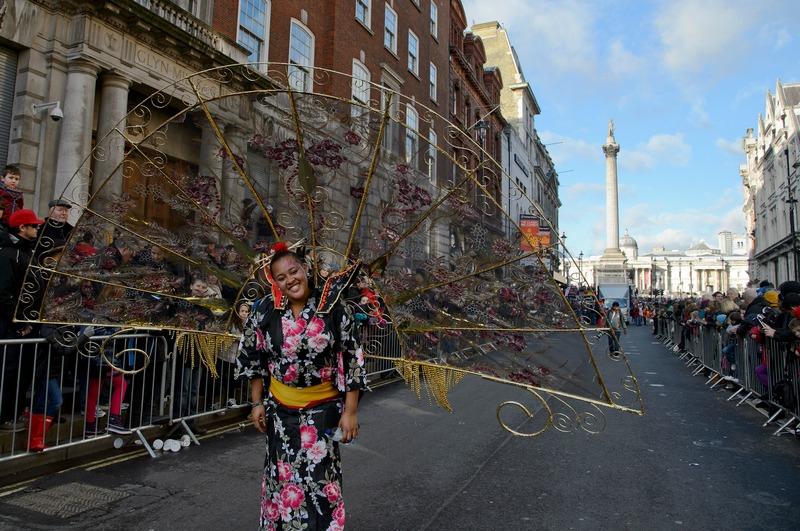 Лондон, Англия, 1 января. В первый день года в городе прошёл традиционный новогодний парад уличных артистов и музыкантов со всего света. Фото: Ben Pruchnie/Getty Images