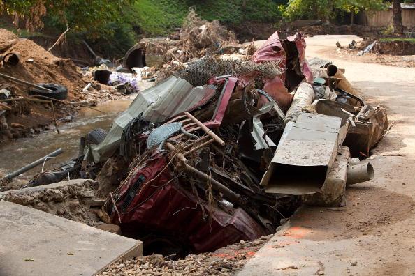 Наслідки руйнівного затоплення в американському штаті Кентуккі. Фото: Joey Foley/Getty Images for Tide