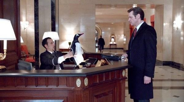 Кадр з фільму «Пінгвіни містера Поппера»