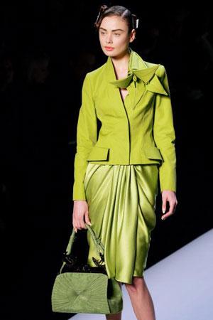 Джон Гальяно (John Galliano) для Christian Dior. Колекція ready-to-wear осінь-зима 2007/2008. Фото: FRANCOIS GUILLOT/AFP/Getty Images