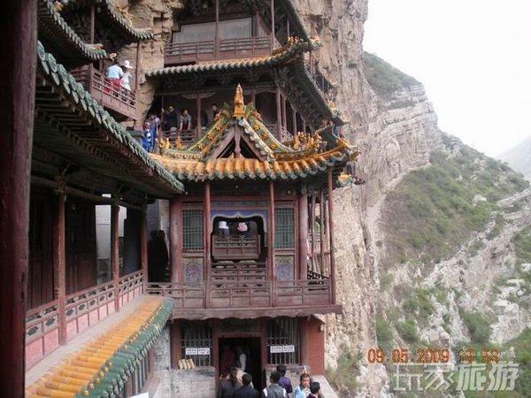 Храм Сюанькунси на горі Хеншань. Фото з aboluowang.com