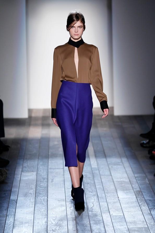 Нова колекція Вікторії Бекхем (Victoria Beckham) на Mercedes-Benz Fashion Week у Нью-Йорку. Фото: Peter Michael Dills / Getty Images