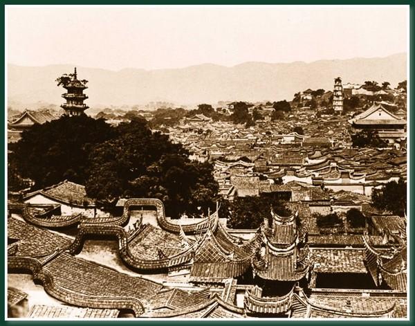 Возле Южных ворот. Город Фучжоу. 1860 год. Фото: Теодор Джонс