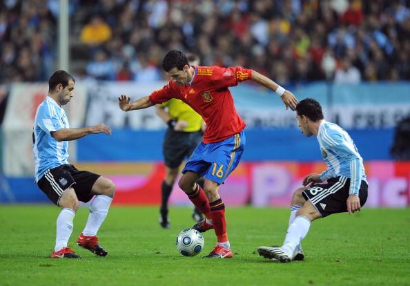 Іспанія - Аргентина фото:JAVIER SORIANO, PIERRE-PHILIPPE /Getty Images Sport