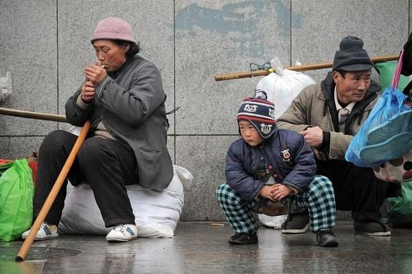 Новогодняя миграция китайцев. Фото: PHILIPPE LOPEZ/AFP/Getty Images