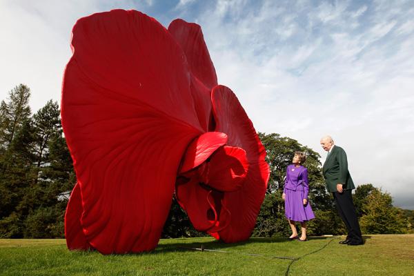 Выставка скульптур Дэмиена Херста в Chatsworth House. Фото: Christopher Furlong / Getty Images