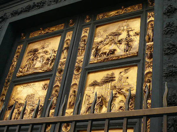 Фрагмент Дверей Рая. Фото: Елена Захарова/Великая Эпоха