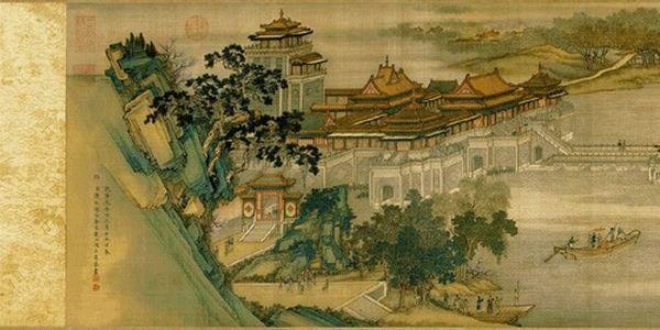 Картина художника Чжан Цзэдуаня По реке в день поминовения усопших. Фото с secretchina.com
