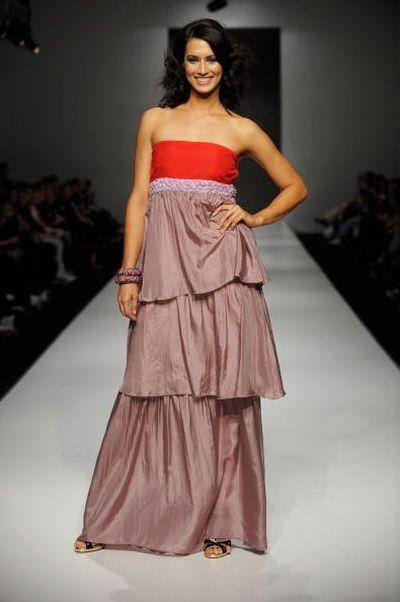 Коллекция одежды от дизайнера Amar, фото: Stefan Gosatti/Getty Images