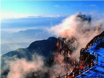 Храм Сяньфэн. Горы Эмэй. Фото с zhengjian.org