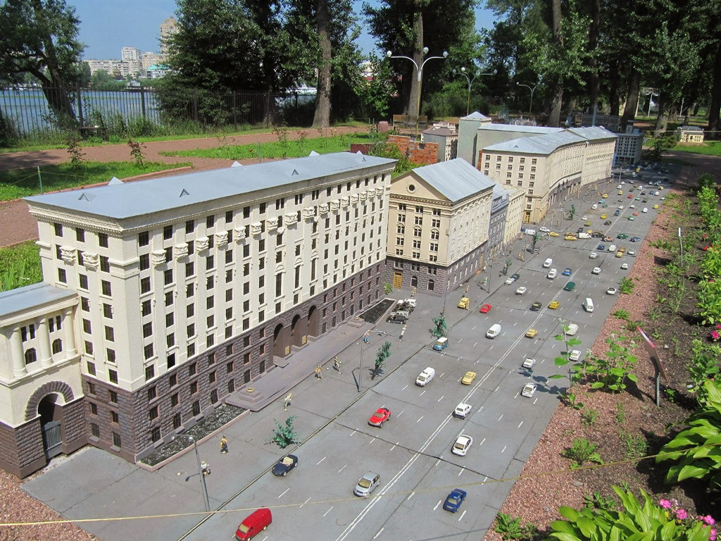 Хрещатик. Парк «Київ у мініатюрі». Фото: afisha-kyiv.blogspot.com