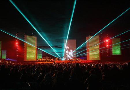 Концерт був організований під егідою ЮНЕСКО за підтримки Королівства Марокко. Фото: ABDELHAK SENNA/AFP/Getty Images