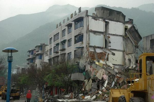 Пострадавшие от землетрясения районы провинции Сычуань. Фото с epochtimes.com