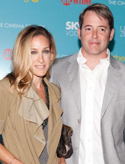 Сара Джессіка Паркер з чоловіком Меттью Бродеріком. Фото: Matthew Peyton/Getty Images