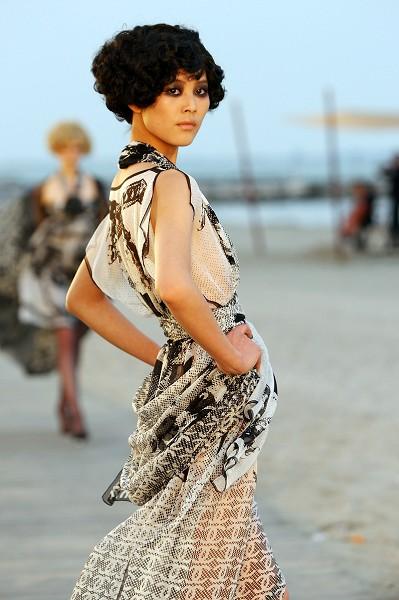 Модный показ Chanel Cruise 2010. Фото: Vittorio Zunino Celotto/Getty Images