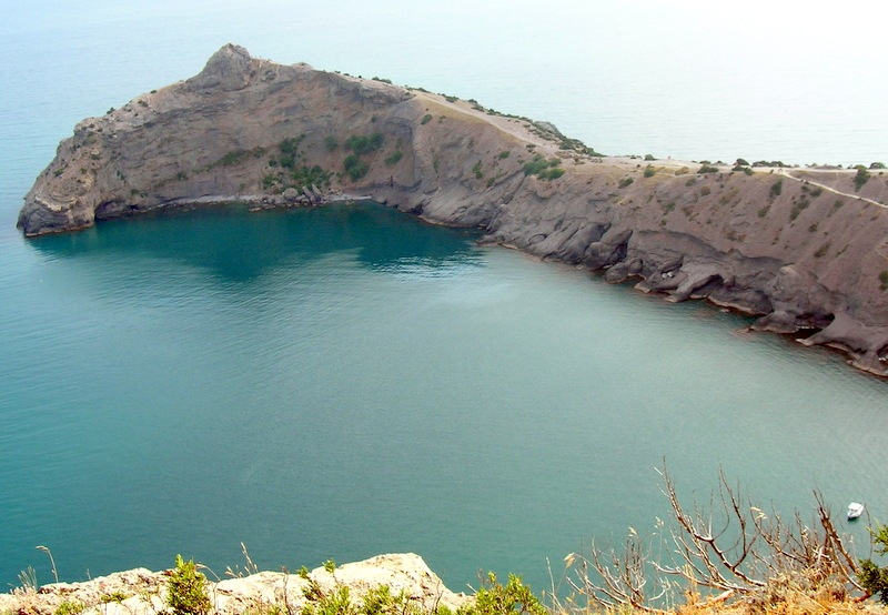 Крым, Новый свет, вид с вершины Орла на мыс Капчик. Фото: Алла Лавриненко/Великая Эпоха