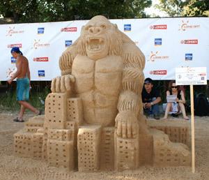 Скульптура *Кинг-Конг*. Фото: Юрий Петюк/The Epoch Times Украина