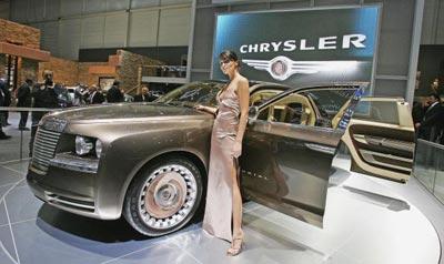 Презентація нової моделі Крайслер (Chrysler Pronto Imperial). Фото: Scott Barbour/Getty Images