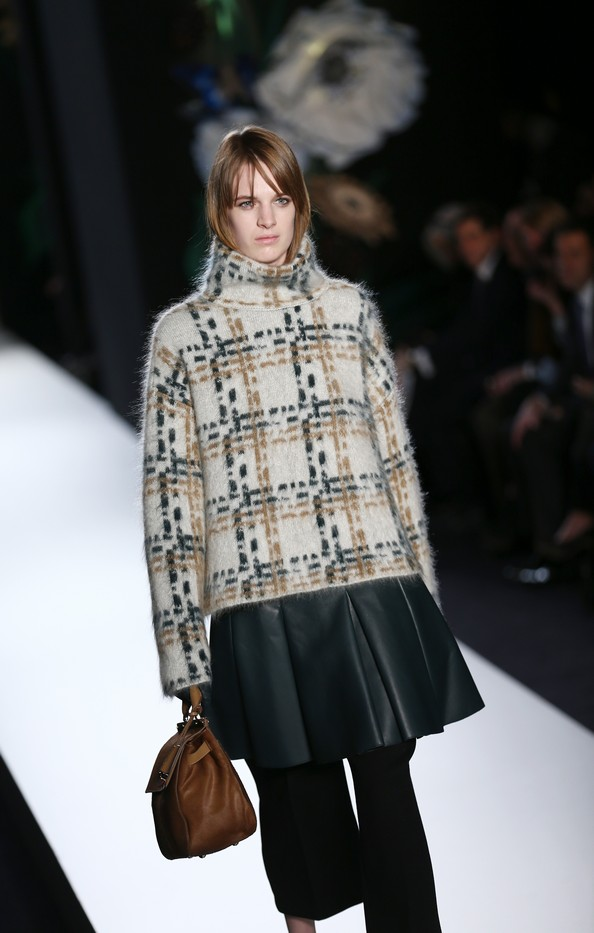 Новая коллекция Mulberry на London Fashion Week. Фото: ANDREW COWIE/AFP/Getty Images