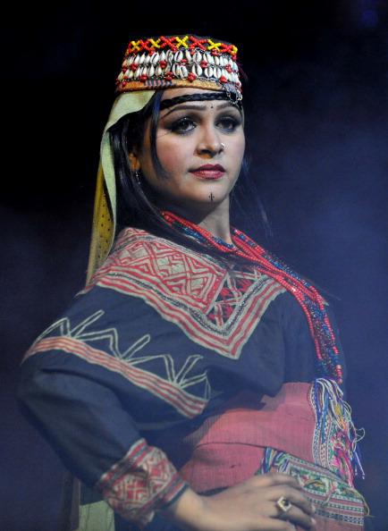 Традиционная одежда на фестивале в Пешаваре. Фото Majeed/AFP/Getty Images