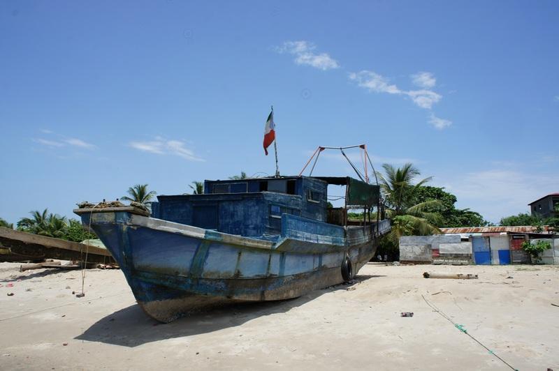 Рибальське суденце. Фото: Олександр Африканець