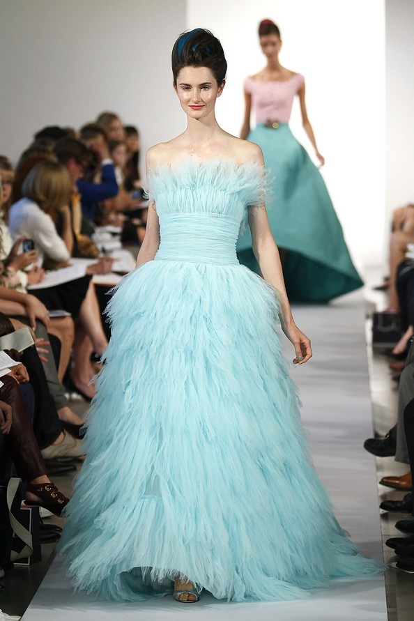 Оскар де ла Рента (Oscar De La Renta) з колекцією весна 2013 на Mercedes-Benz Fashion Week у Нью-Йорку. Фото: Peter Michael Dills/Getty Images