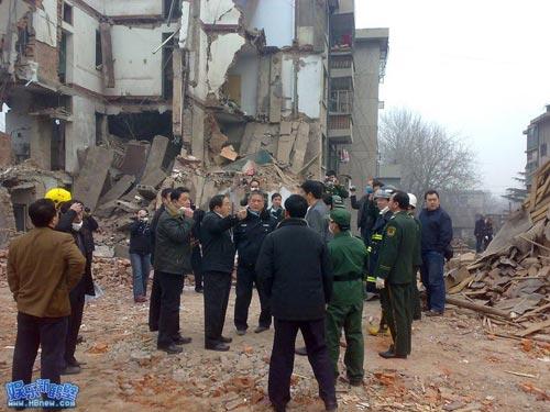 Останки взорвавшегося дома. Фото с epochtimes.com
