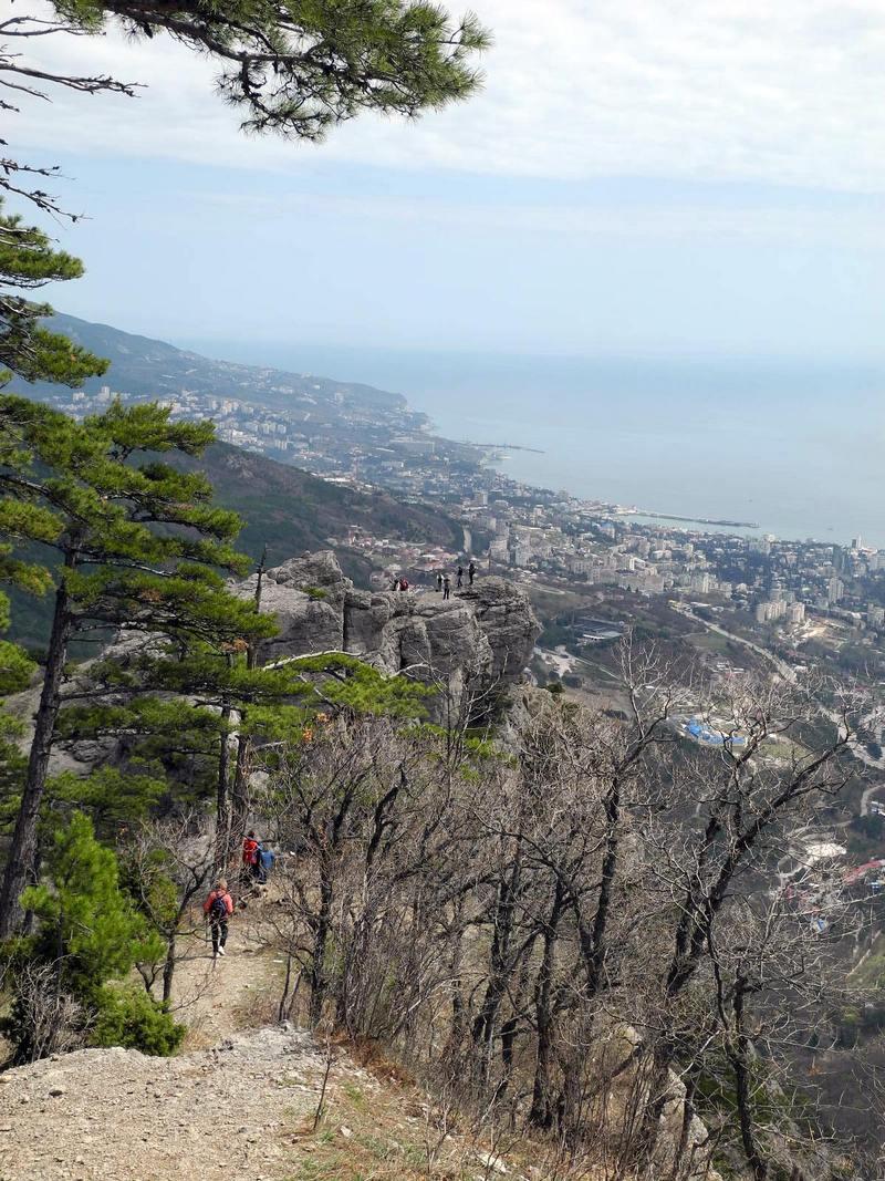 Вид на гору Ставрі-Кая. Фото: Алла Лавриненко/EpochTimes.com.ua