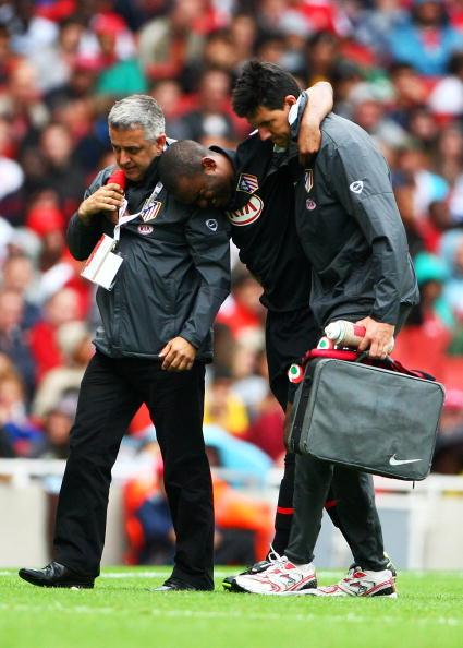 Синама-Понголль /Арсенал - Атлетико 2:1 Phil Cole/Getty Images Sport