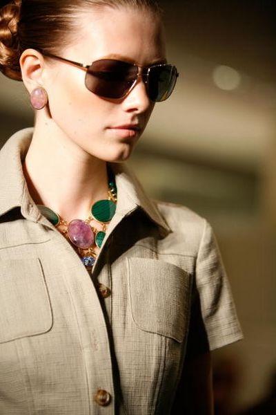Коллекция женской одежды Badgley Mischka 2009/Фото: Getty Images