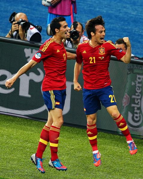 Іспанія - Італія Фото: Laurence Griffiths, Handout /Getty Images Sport