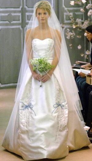 Коллекция свадебных платьев Carolina Herrera. Фото: H. Walker/Getty Images