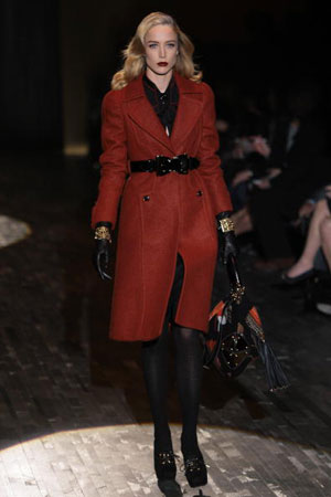 The Gucci fashion show/женская коллекция ready-to-wear осень-зима 2007. Фото: Giuseppe Cacace/Getty Images