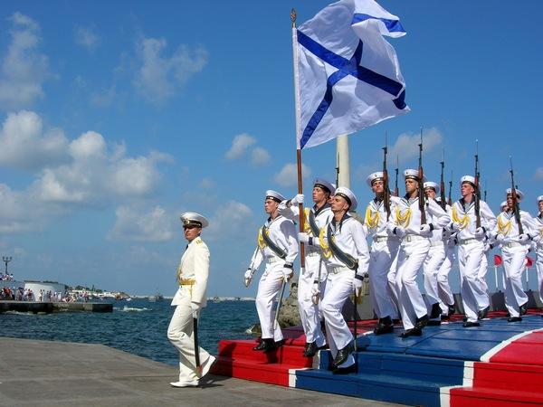 День Военно-Морского Флота России в Севастополе. Фото: Алла Лавриненко/The Epoch Times Украина