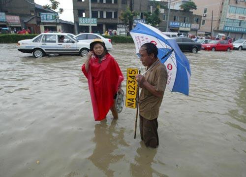 Г.Ченду провинции Сычуань 24 сентября. Фото: China Photos/Getty Images
