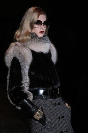 The Gucci fashion show/жіноча колекція ready-to-wear осінь-зима 2007. Фото: Giuseppe Cacace/Getty Images