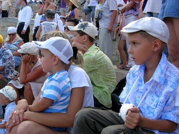 Юные зрители. Фото: Алла Лавриненко/The Epoch Times Украина