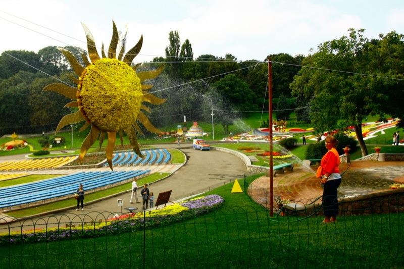 В Киеве открыли выставку цветов. Фото: Евгений Довбуш/The Epoch Times Украина