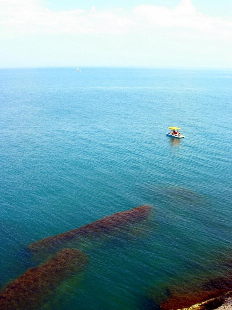 Крым, Новый свет, вид на море с высоты тропы Голицына. Фото: Алла Лавриненко/Великая Эпоха
