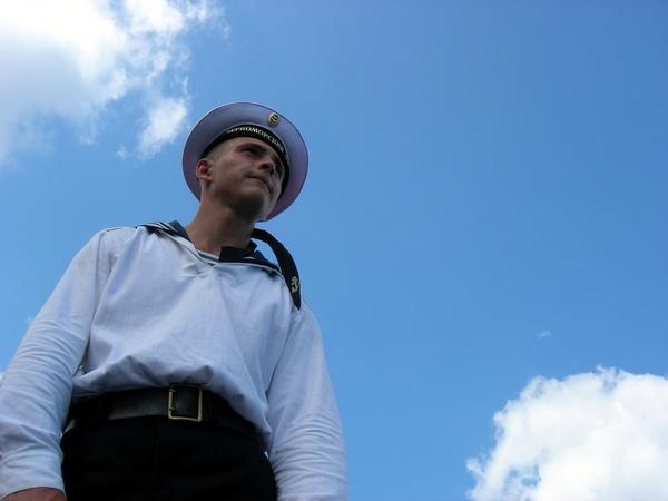 Моряк ЧФ. Фото: Алла Лавриненко/The Epoch Times Украина