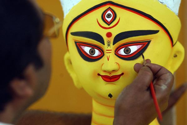 Індуїстська богиня Дурги. Фото: INDRANIL MUKHERJEE / AFP / Getty Images