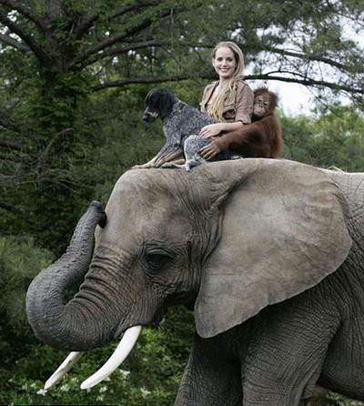 Дружба Сурилы и Роско. Фото с secretchina.com