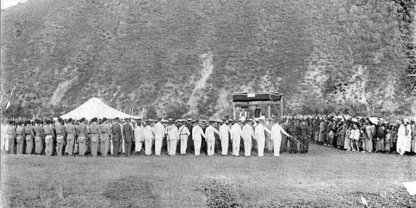 Огляд війська. Китай часів династії Цін. Фото: William Purdom