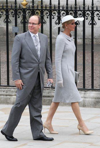 Принц Альберт II с Монако и мисс Шарлин. Фото: Chris Jackson/Getty Images