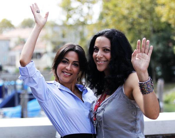На 67-му Венеціанському кінофестивалі. Акторки Ясмін Ельмасрі і Руба Блал (Yasmine Al Masri; Ruba Blal). Фоторепортаж. Фото: Gareth Cattermole/Andreas Rentz/Pascal Le Segretain/Getty Images