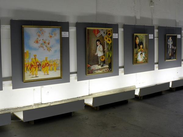 У Швейцарії проходить міжнародна художня виставка «Істина Доброта Терпіння». Фото: Микола Богатирьов