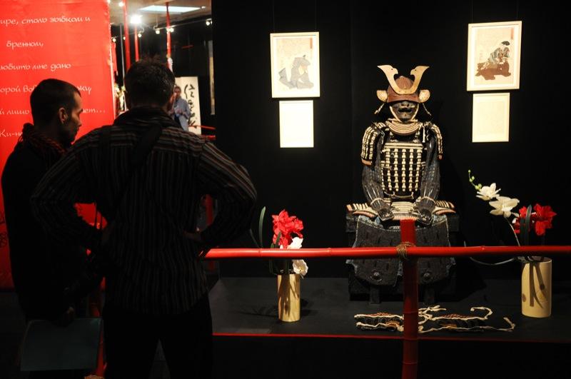 Выставка посвящённая жизни самураев Самураи. Art of war открылась в Киеве 14 февраля 2013 года. Фото: Владимир Бородин / Великая Эпоха