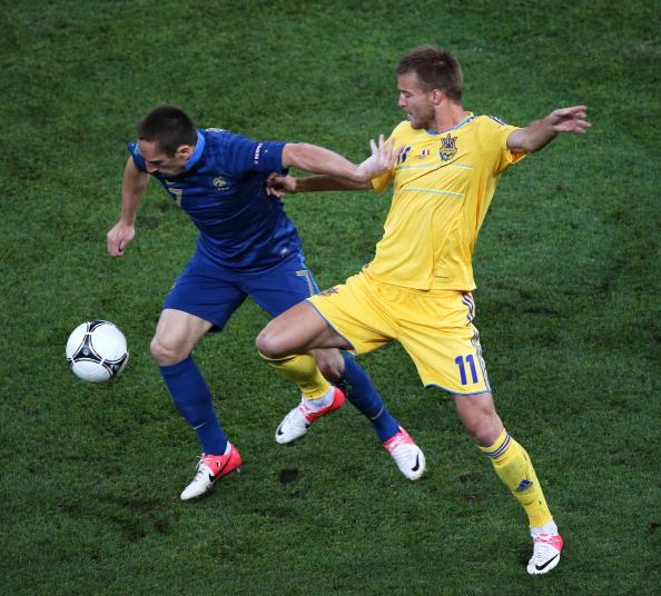 Украина – Франция Фото: Julian Finney, Ian Walton /Getty Images Sport