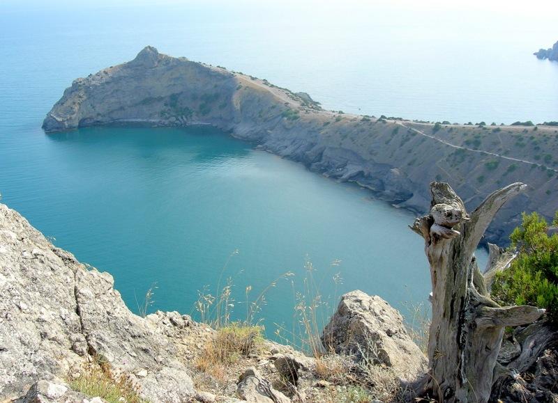 Новий світ, Крим, вид з вершини Орла на мис Капчик. Фото: Алла Лавриненко/Велика Епоха
