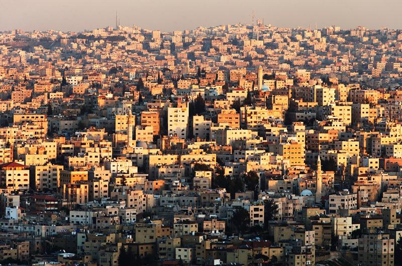 Столиця Йорданії, Амман. Вид на місто. Фото: Adam Pretty/Getty Images